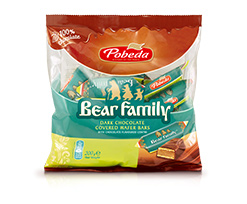 Bear Family  Wafer Candies