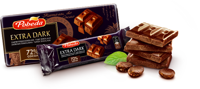 Extra Dark Chocolate 72% Cocoa